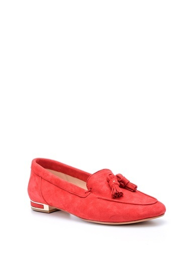 Derimod Kadın Loafer(16801) Casual Kırmızı